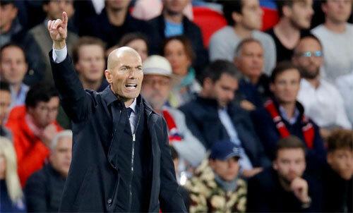 Real Madrid chết trên