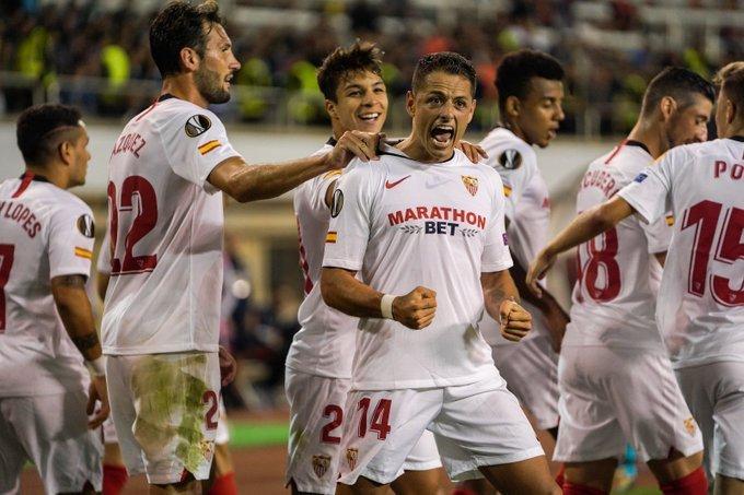Cựu sao M.U toả sáng, Sevilla đại thắng Qarabag ngay tại Azersun Arena - Bóng Đá