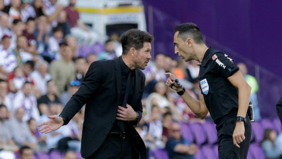 Hoà bạc nhược Valadolid, Atletico Madrid tự
