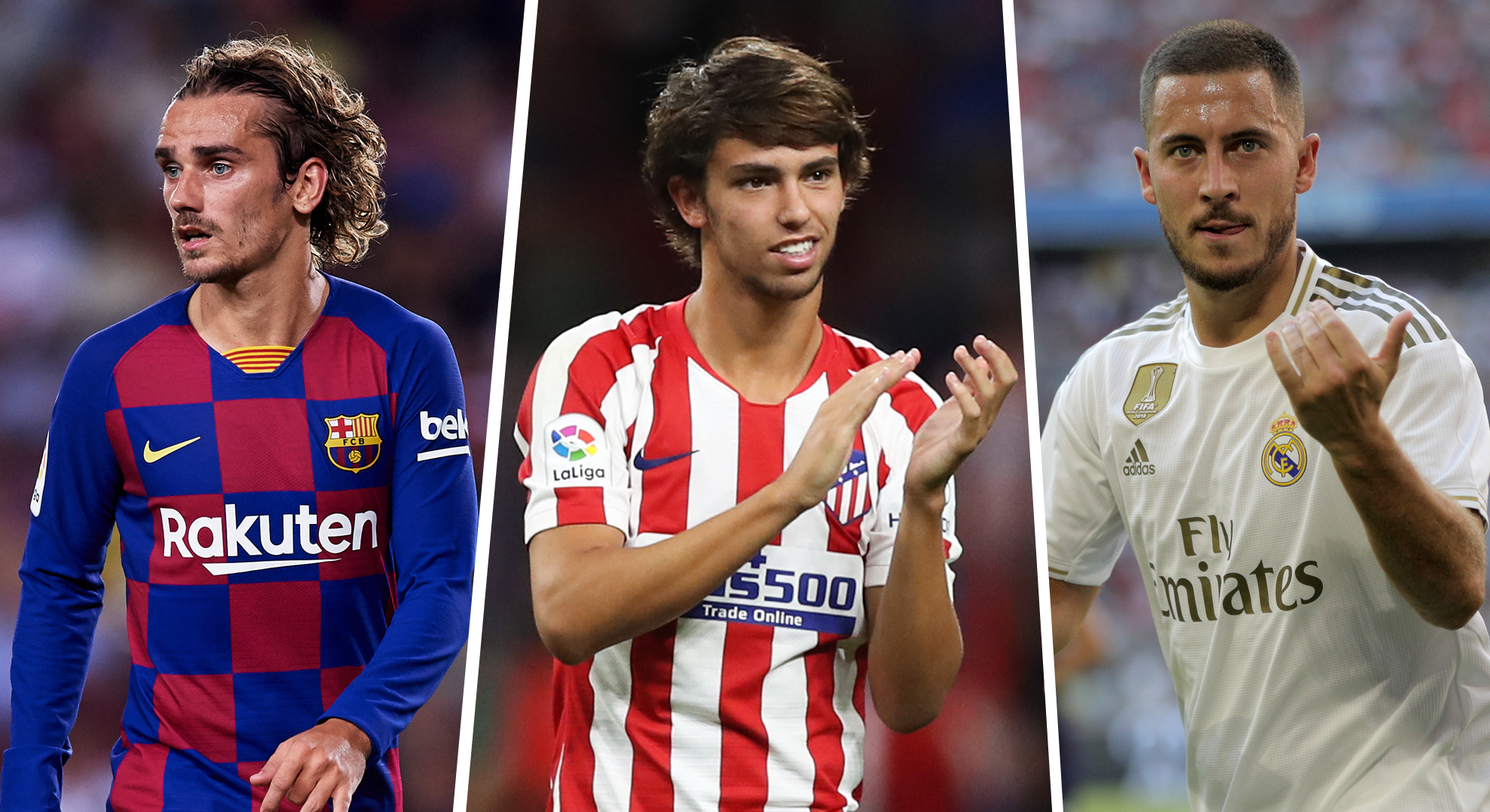 Griezmann, Hazard and Joao Felix: three marquee signings who could decide La Liga title - Bóng Đá