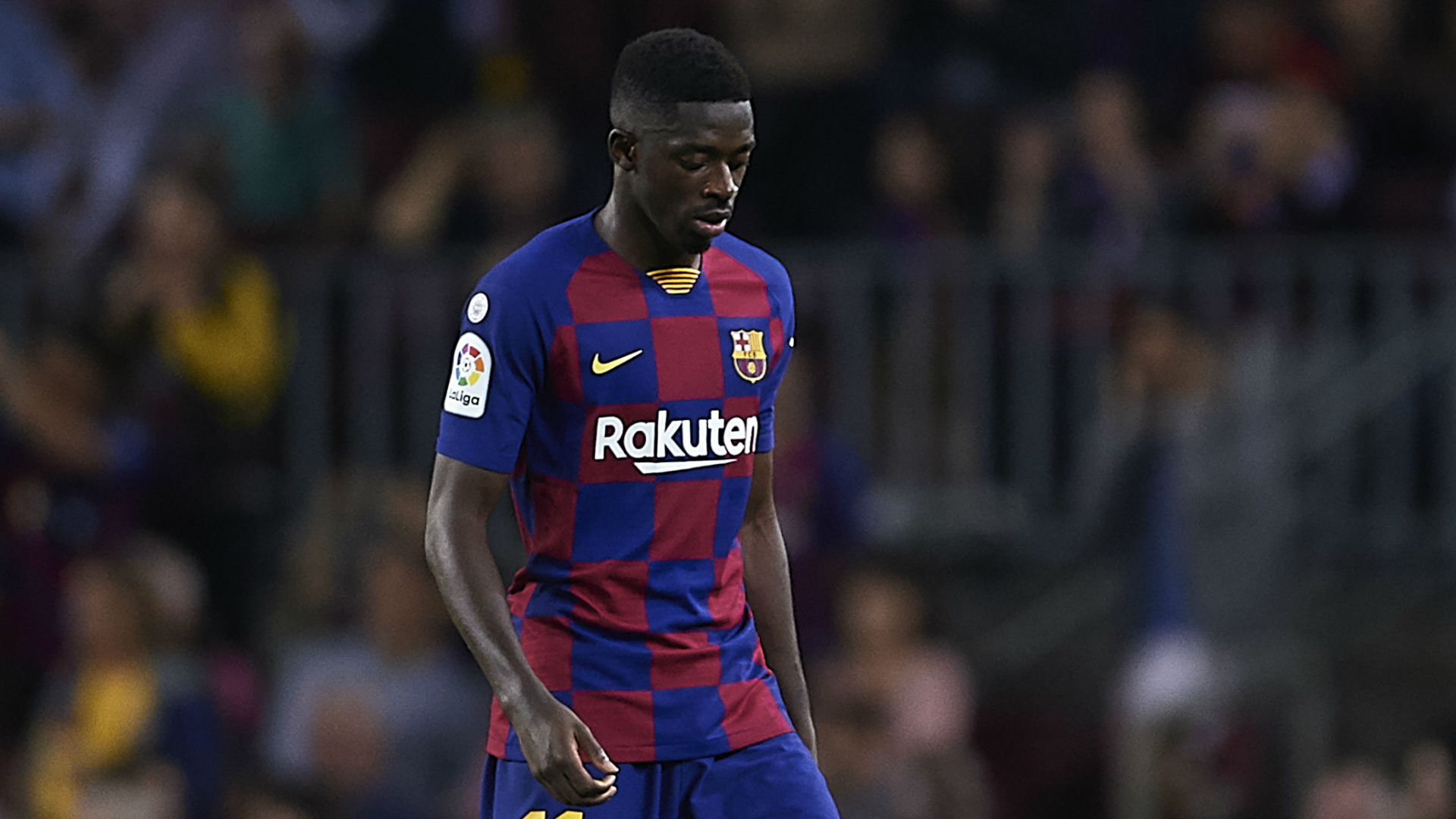 Rivaldo: Barcelona should punish Dembele for Sevilla red card - Bóng Đá
