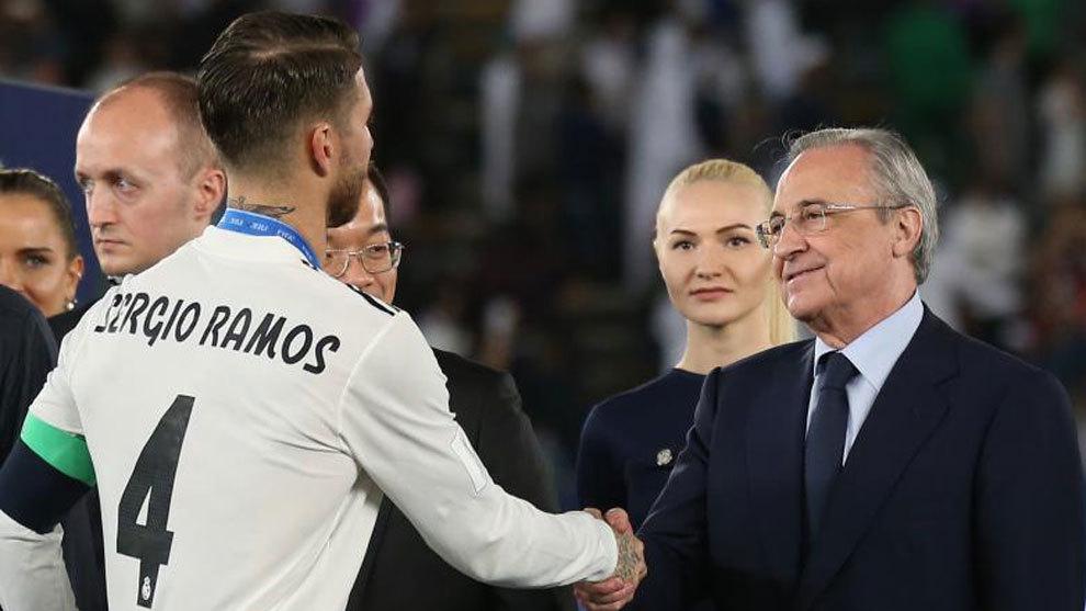 Florentino Perez: I'm convinced Sergio Ramos' legend will continue - Bóng Đá