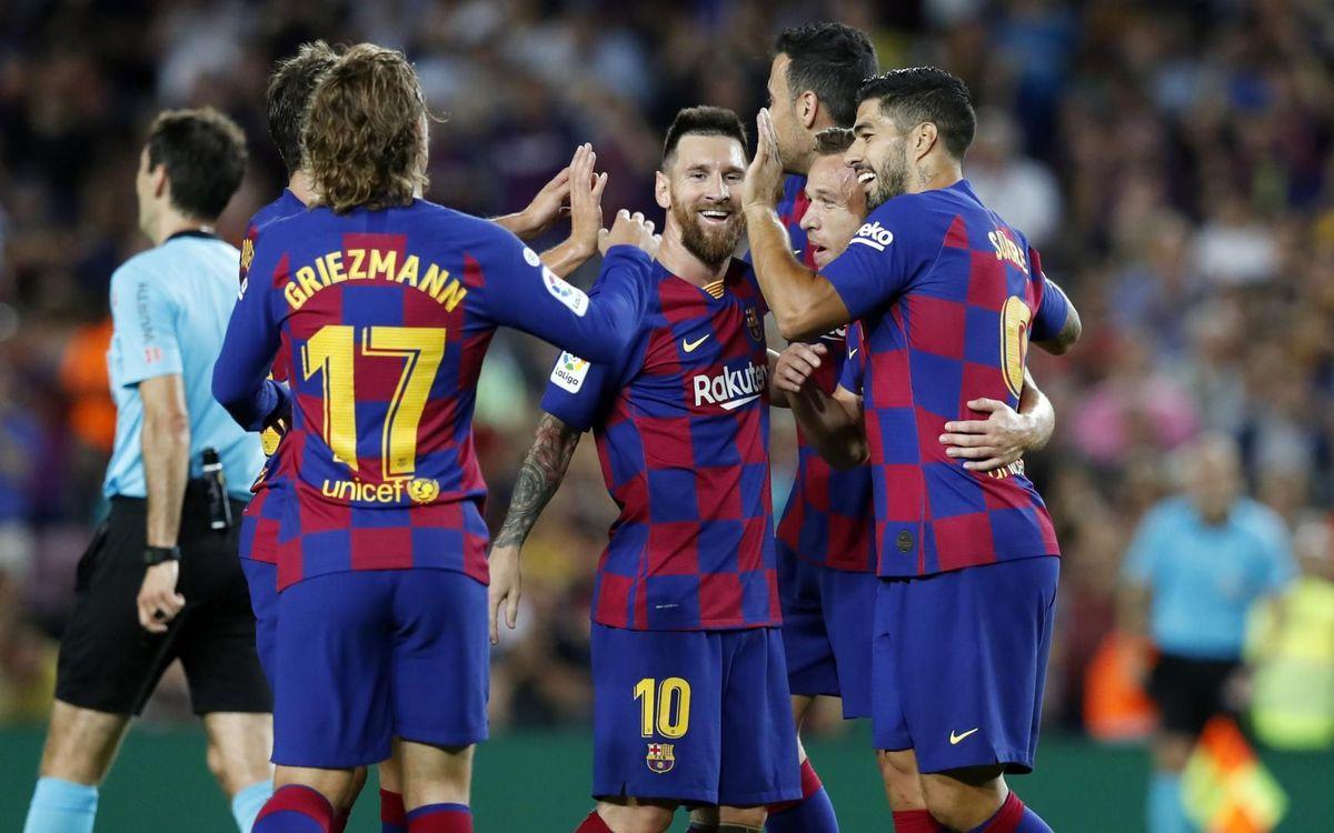 Rõ ràng là Barcelona
