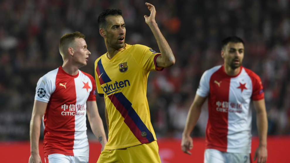 Busquets: Barcelona suffered until the final whistle - Bóng Đá