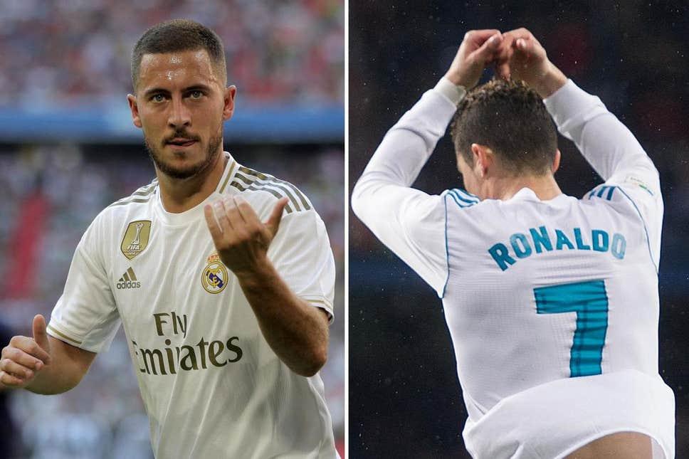 Hazard: Taking the No.7 off Cristiano Ronaldo isn't easy - Bóng Đá