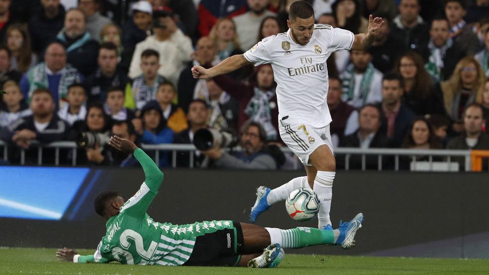 Hazard is finally here, but VAR ends up frustrating him and Real Madrid - Bóng Đá