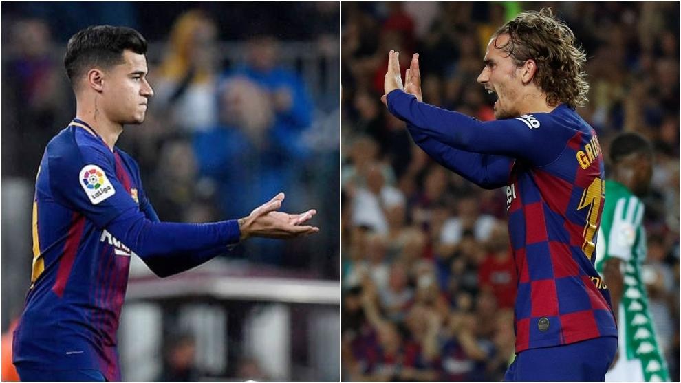 Griezmann is no improvement on Coutinho - Bóng Đá