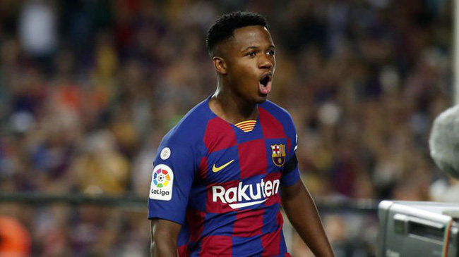 'Let's hope I can be here my whole life': Ansu Fati admits he wants to stay at Nou Camp forever  - Bóng Đá