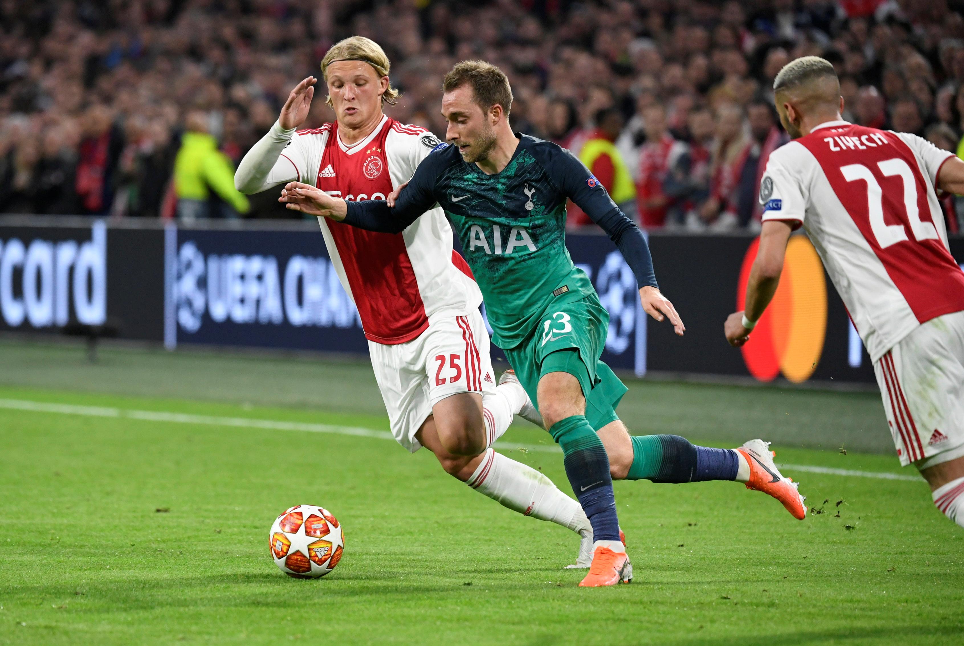 CHRIS-TMAS SALE Man Utd ready to offer Tottenham £42m in January move for Christian Eriksen - Bóng Đá