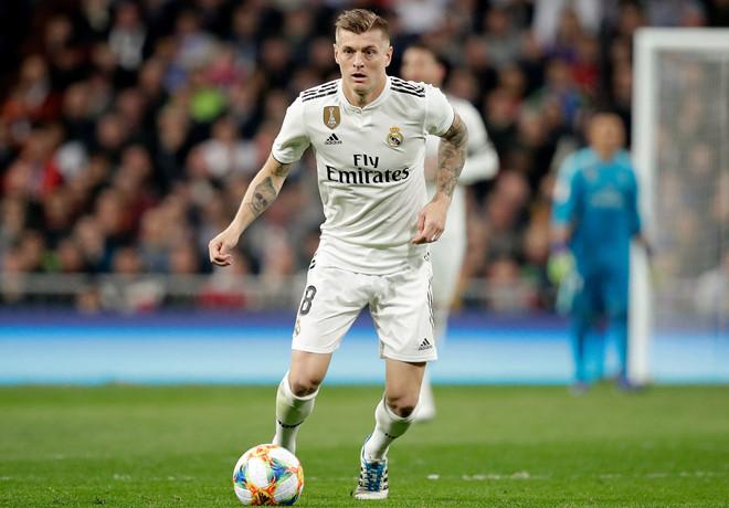 Real Madrid: Fans praise Kroos after passing stat - Bóng Đá