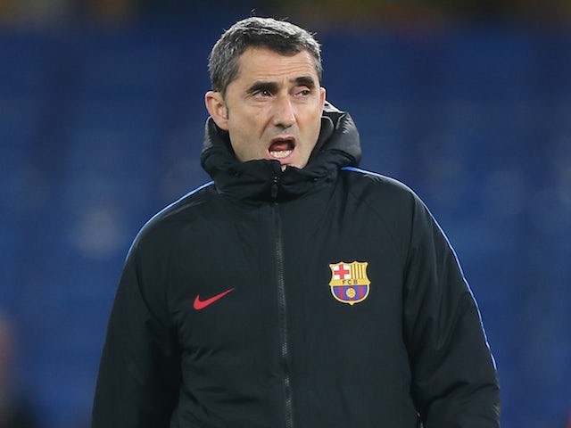Barcelona fans don't like Ernesto Valverde's decision to give players a day off - Bóng Đá