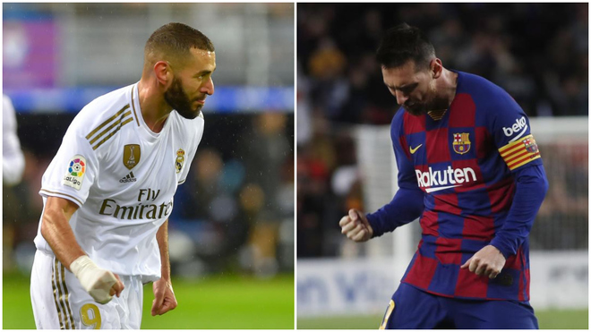 Benzema leads the Pichichi race but Messi is close behind - Bóng Đá