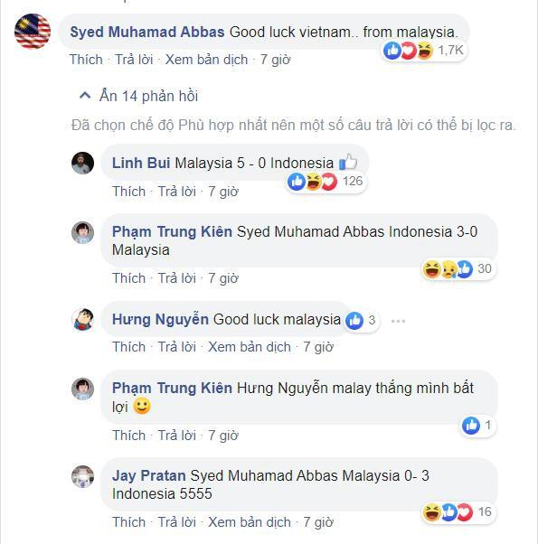 CĐV Malay cổ vũ Việt Nam chiến thắng - Bóng Đá