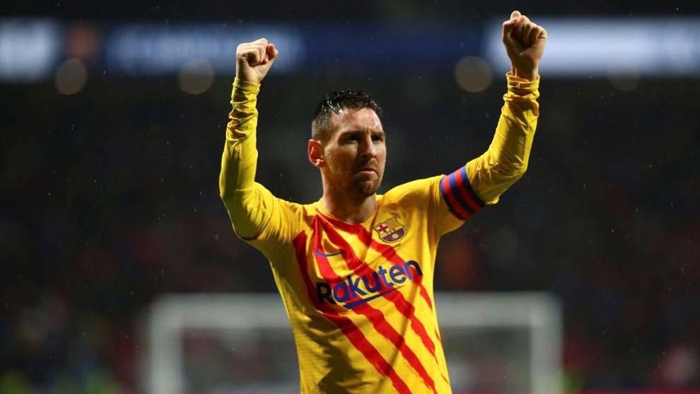 Third time's a charm for Messi at the Wanda Metropolitano - Bóng Đá