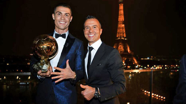 'Ronaldo is still the best ever!' - Agent Mendes backs Portuguese star following Messi's Ballon d'Or triumph - Bóng Đá