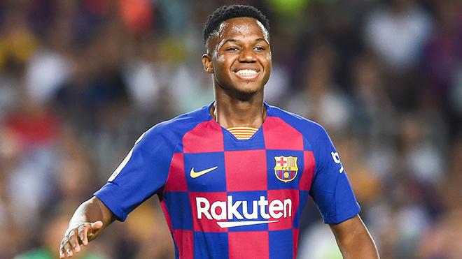 Barcelona raise prodigy Fati's release clause - Bóng Đá