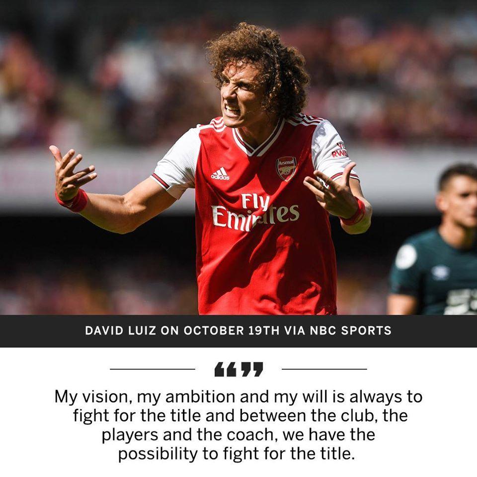 David Luiz có lẽ nên xấu hổ vì tuyên bố hồi tháng 10? - Bóng Đá