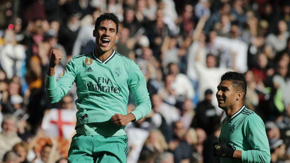 Varane becomes the 15th Real Madrid player to score this season - Bóng Đá