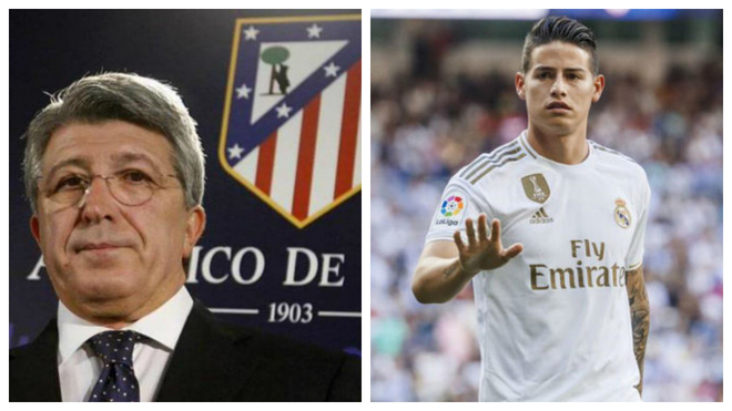 Cerezo: Atletico tried to sign James Rodriguez, but the negotiations failed - Bóng Đá