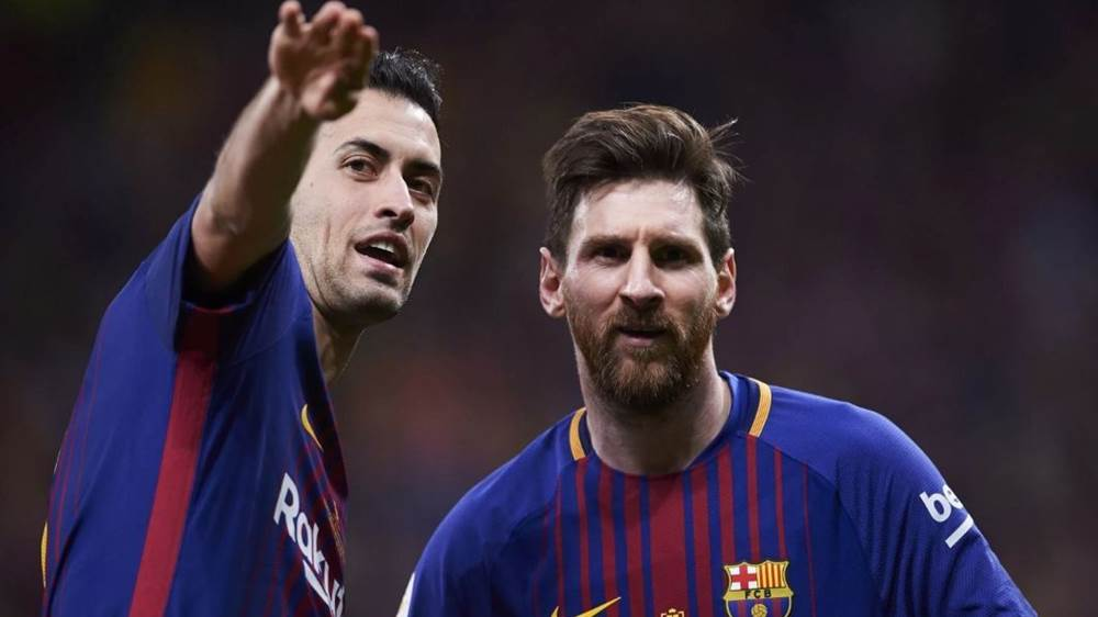 Busquets: Messi can still go on for a while yet - Bóng Đá