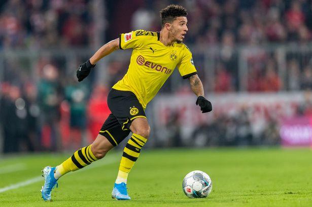 Manchester City are said to have first refusal on Jadon Sancho should he leave Borussia Dortmund. - Bóng Đá