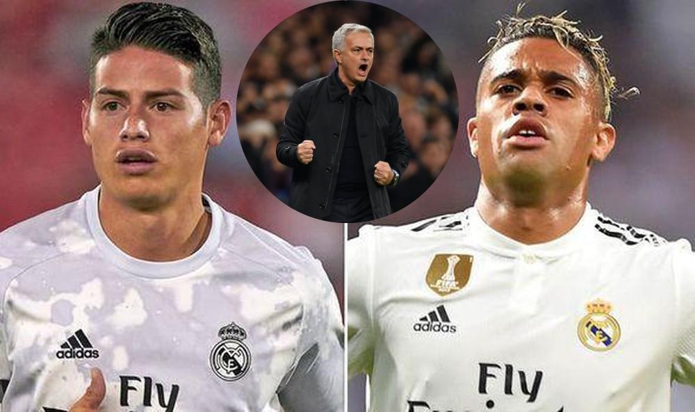 Jose Mourinho plans a double-raid of Real Madrid stars - Bóng Đá