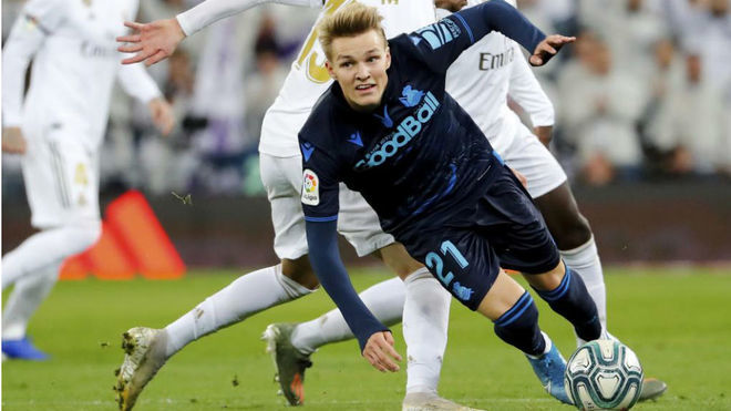 Odegaard to play his first match against Barcelona - Bóng Đá