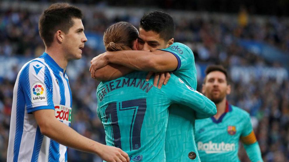 Griezmann refuses to celebrate his goal against Real Sociedad - Bóng Đá