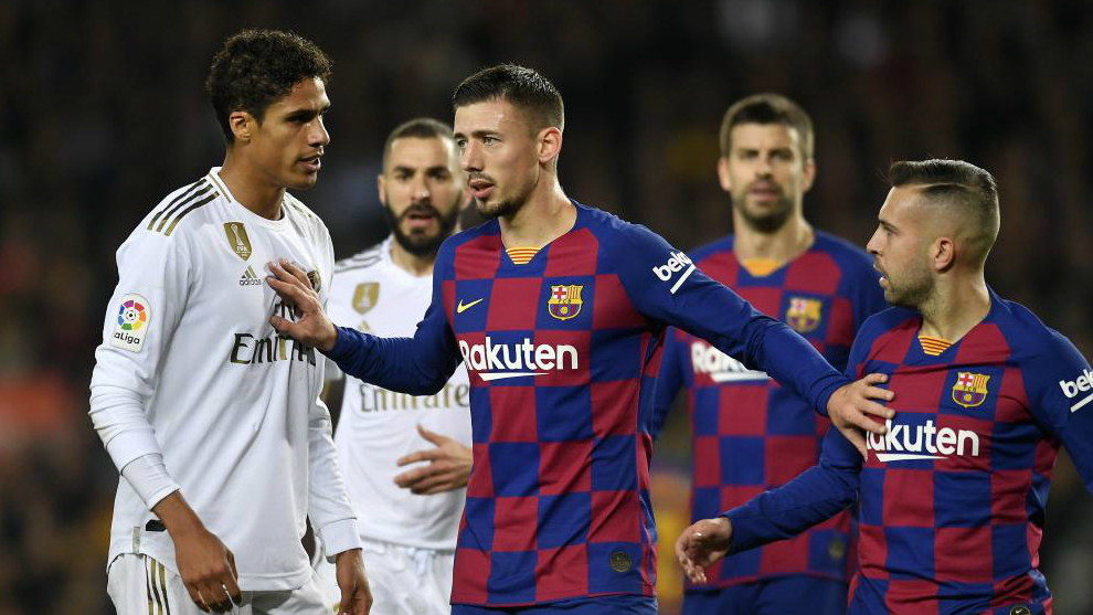 Lenglet: I touched Varane, but it wasn't a penalty - Bóng Đá