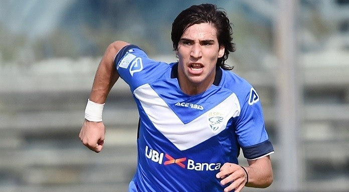 Juventus have Brescia midfielder Sandro Tonali among their objectives.  - Bóng Đá