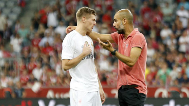 Guardiola on Kroos: In the most difficult moment, he's the bravest - Bóng Đá