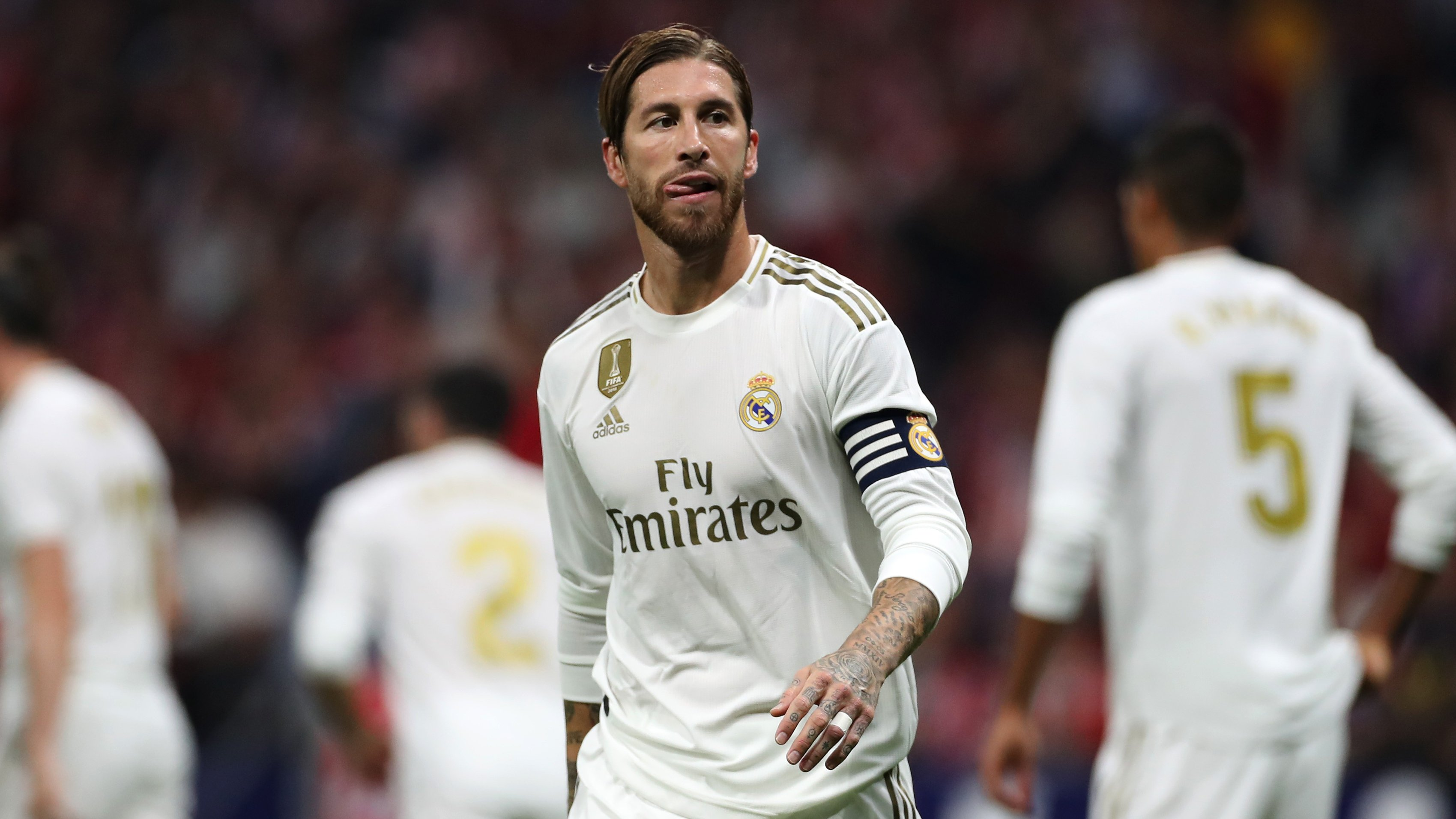 Real Madrid: Sergio Ramos will miss two weeks with an ankle injury - Bóng Đá