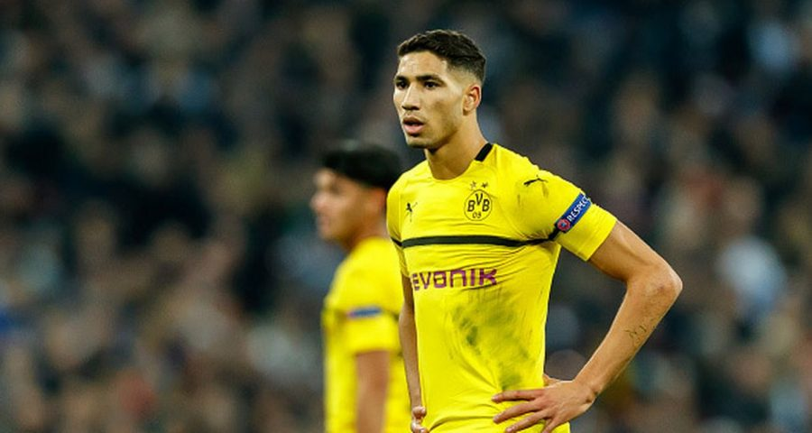 'My heart is divided between Real and Dortmund': Achraf Hakimi admits he is torn over his future  - Bóng Đá