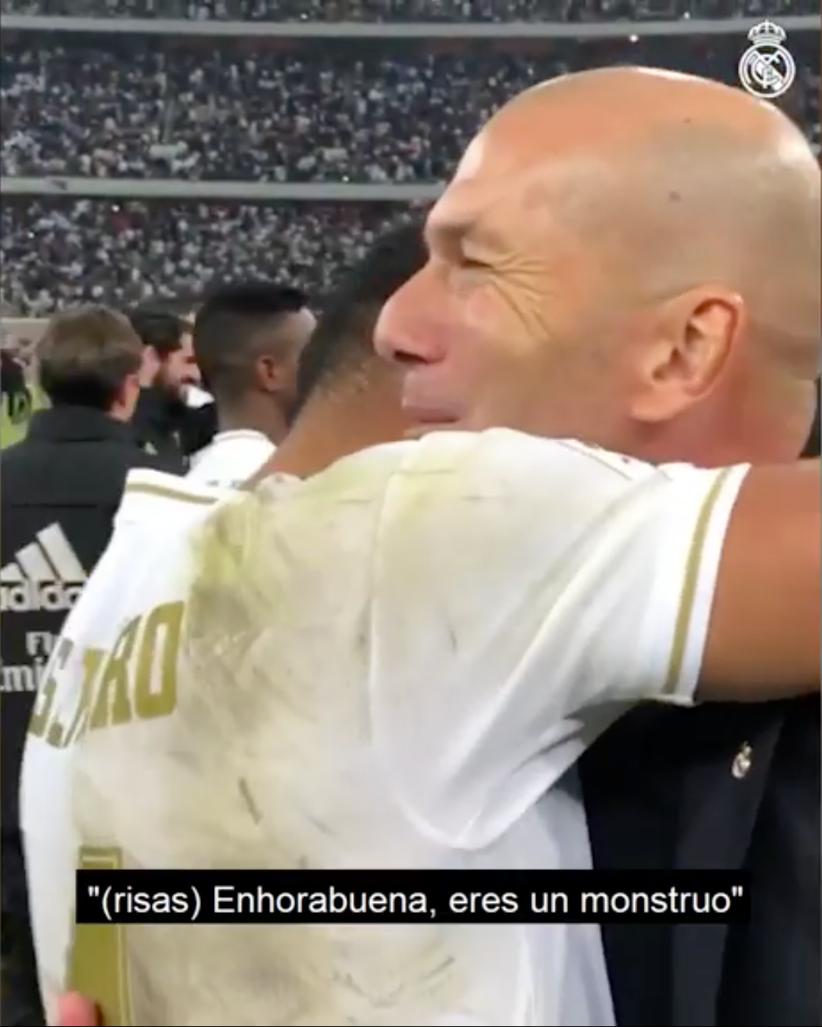 Zidane to Casemiro: Once again, well done you monster! - Bóng Đá