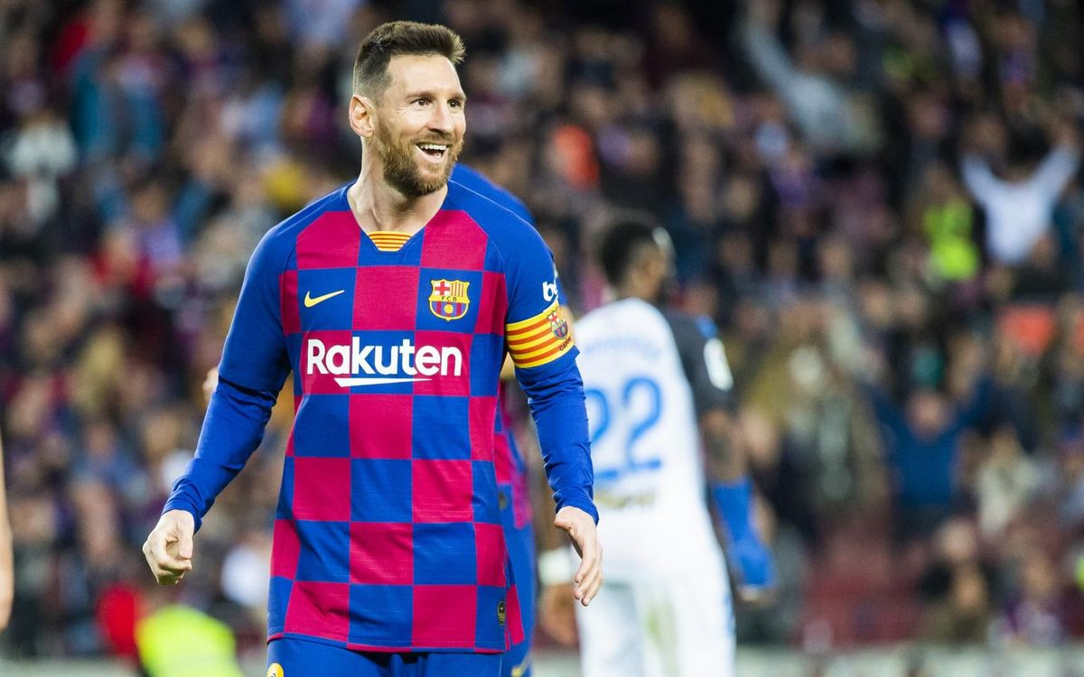 Lionel Messi has scored exactly 500 goals in his last 500 Barcelona games - Bóng Đá