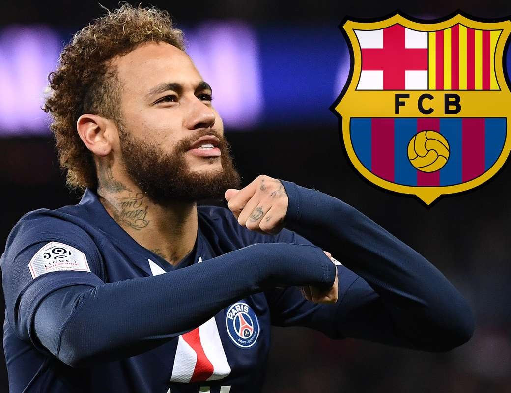 Neymar 'checks up on new Barcelona manager Quique Setien' as he holds out hope of one day ret - Bóng Đá