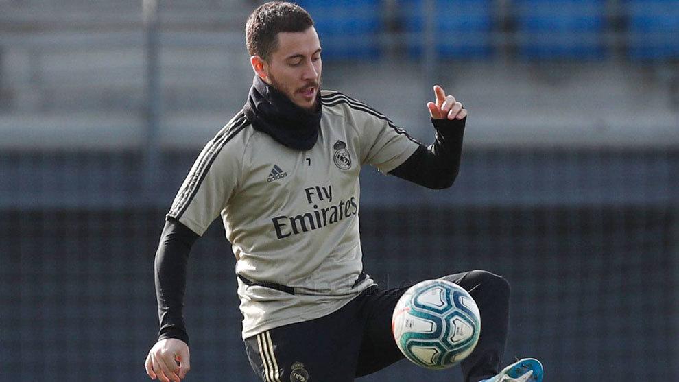 Hazard starts ball work at Valdebebas - Bóng Đá