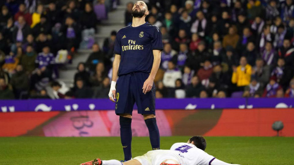 Real Madrid ratings vs Real Valladolid: Benzema's goals need to return - Bóng Đá
