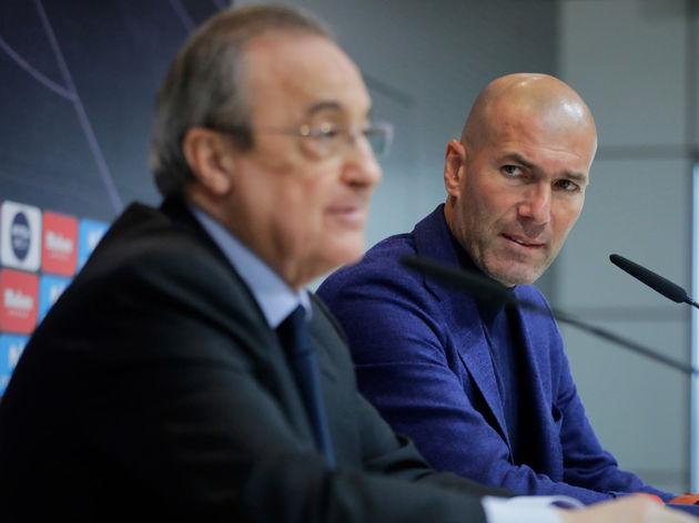 Real Madrid boss Zinedine Zidane furious at Florentino Perez and drops Juventus confession - Bóng Đá