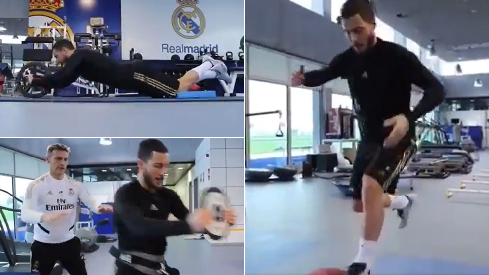 Eden Hazard looks slimmer than ever as return nears - Bóng Đá