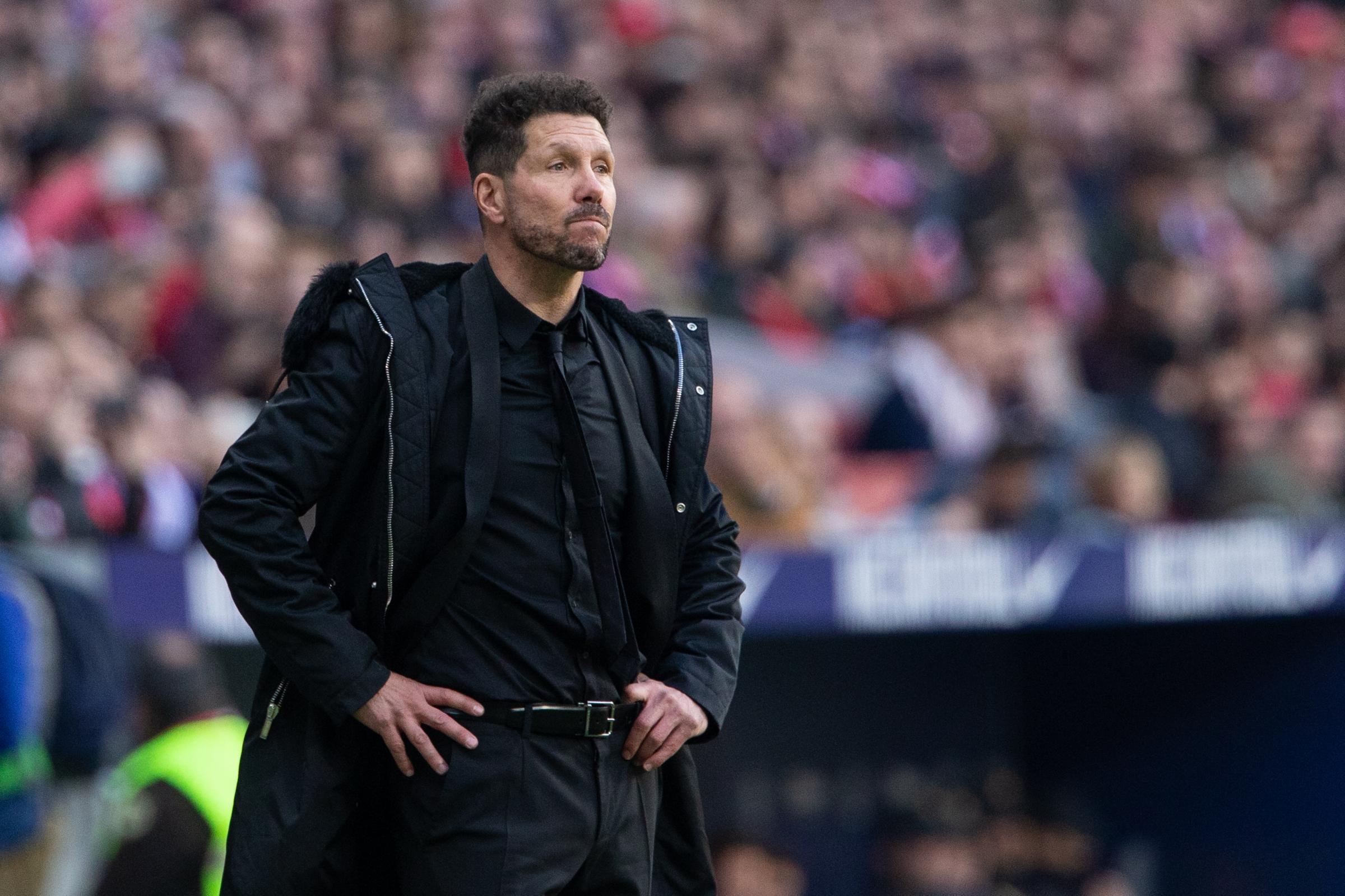 Just one goal in 514 minutes for Atletico Madrid - Bóng Đá