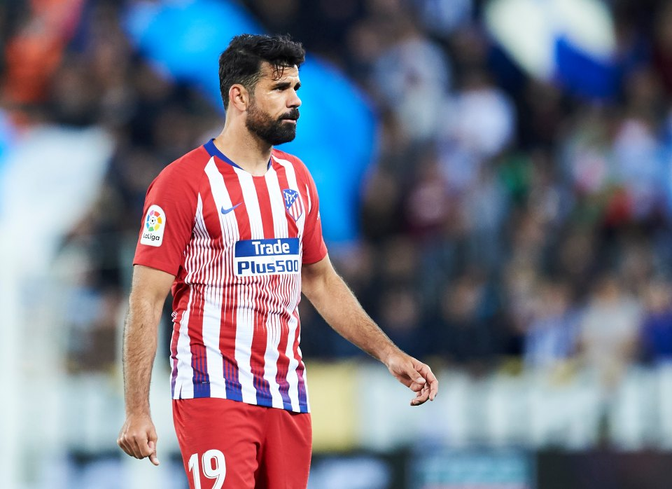 COSTA TO RETURN FOR ATLETICO MADRID'S CHAMPIONS LEAGUE CLASH WITH LIVERPOOL - Bóng Đá