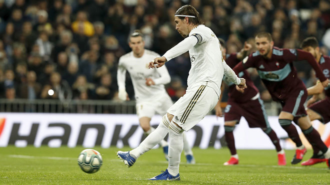 Ramos' perfect penalty record: 12 from 12 for Real Madrid since Cristiano left - Bóng Đá