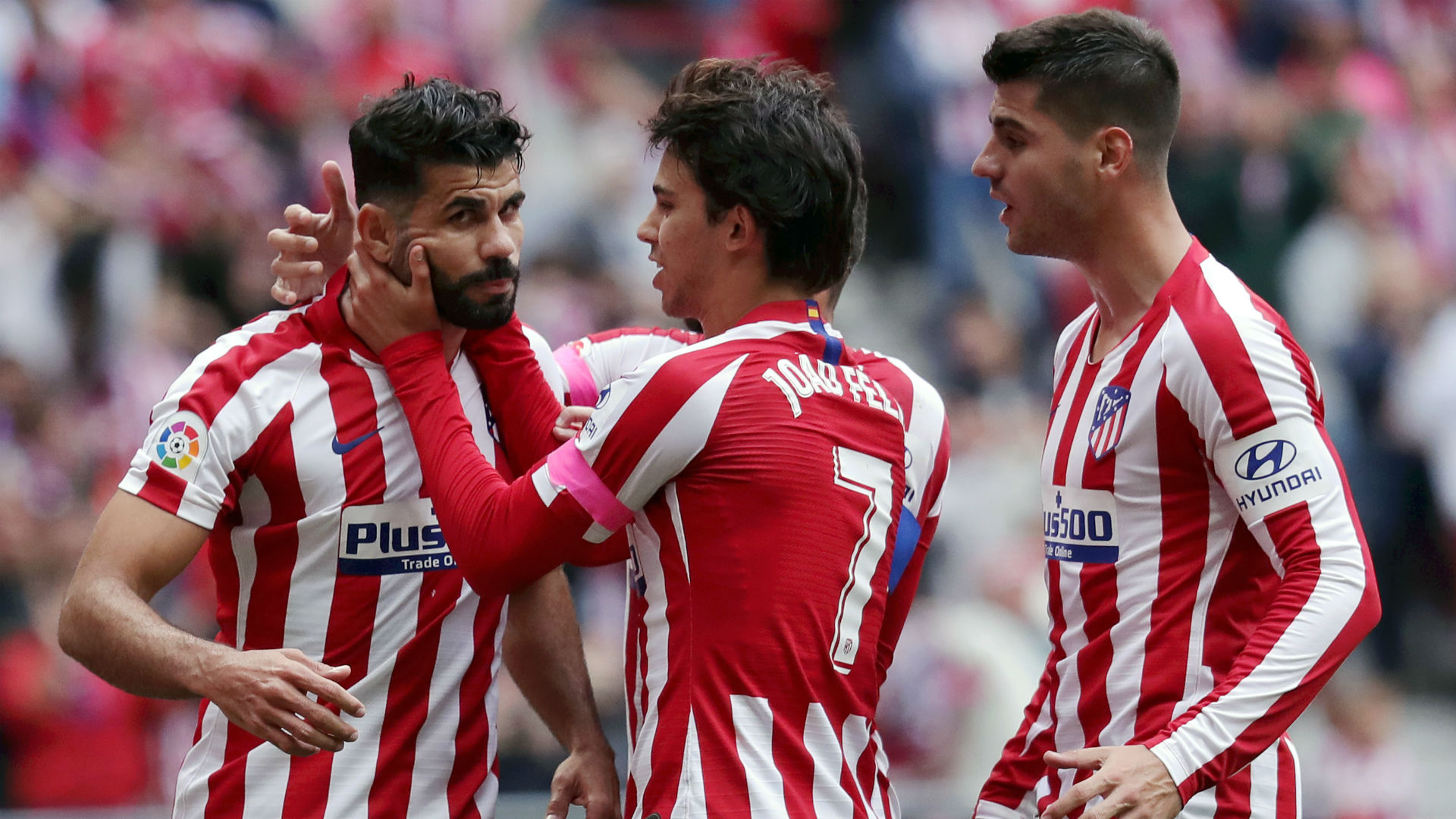 Atletico Madrid's squad for Liverpool: Costa returns, but Joao Felix is out - Bóng Đá