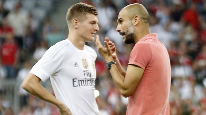 Kroos: Guardiola wanted me to renew my contract, but what sense did it make to stay if he left? - Bóng Đá