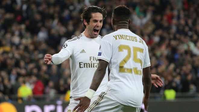 Isco scores in the Champions League for first time in 17 months - Bóng Đá