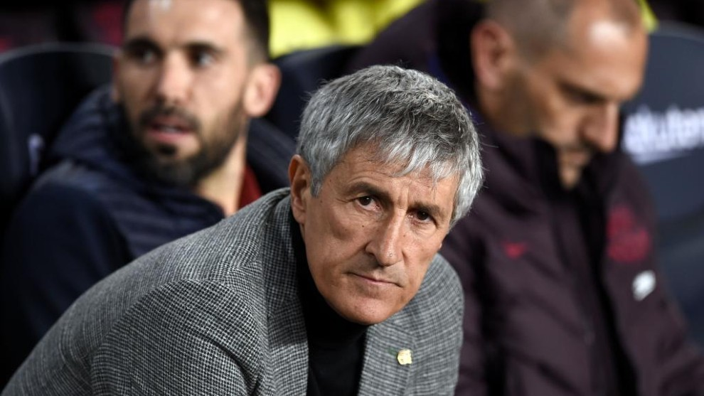 Setien 'spies' on Real Madrid at the Bernabeu - Bóng Đá