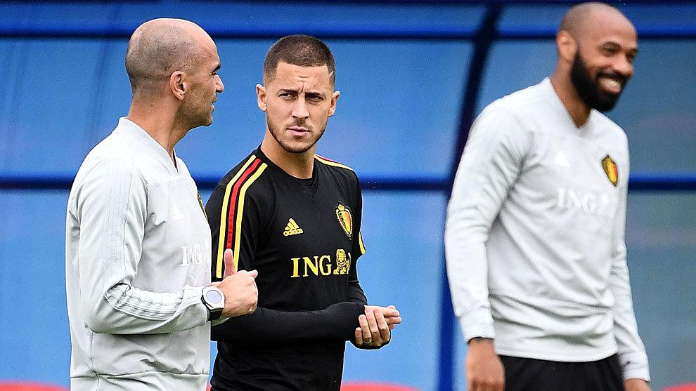 Martinez: Hazard will return before the end of the season - Bóng Đá