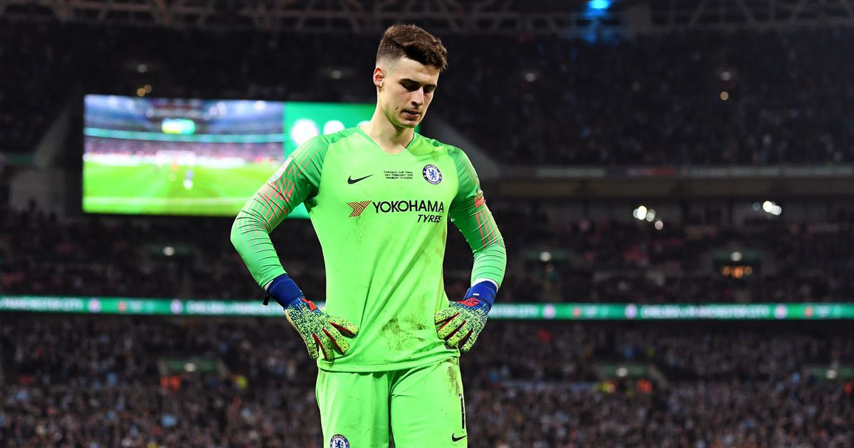 Kepa Arrizabalaga 'ready to quit Chelsea' in the summer and believes Frank Lampard 'has not honoured verbal contract' to keep him as No 1 - Bóng Đá
