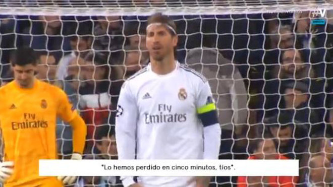 Ramos' message after De Bruyne goal: We've lost in five minutes, guys - Bóng Đá